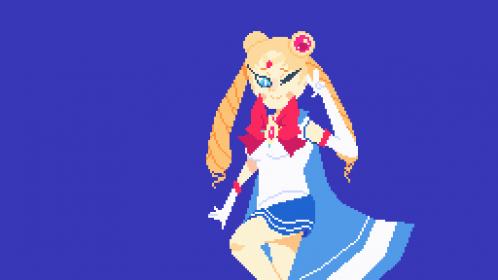 Sailor moon collab! I WIP