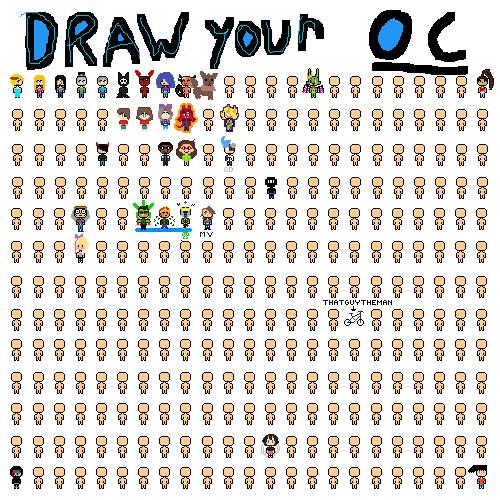 my OC is eevee