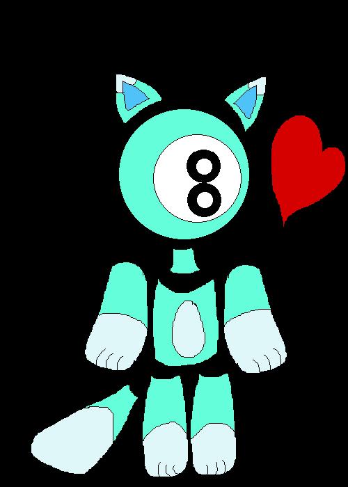 8 Ball Cat