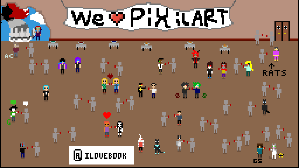 WE LOVE PIXILART