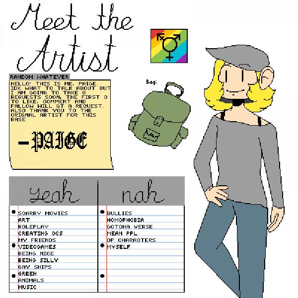 Meet the artist!