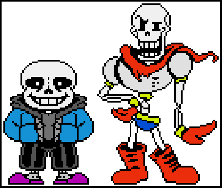 sans and papyrus v 2