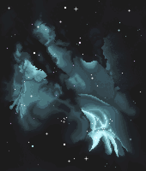 Caerula nube formatum