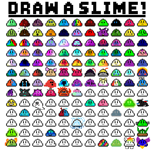draw slime