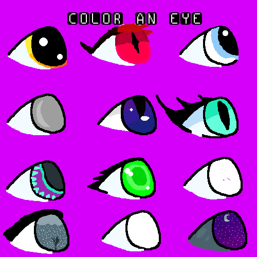 do your own eye