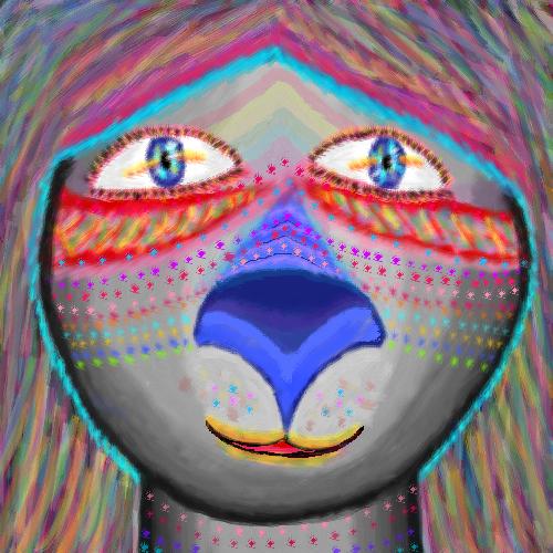 The koala girl