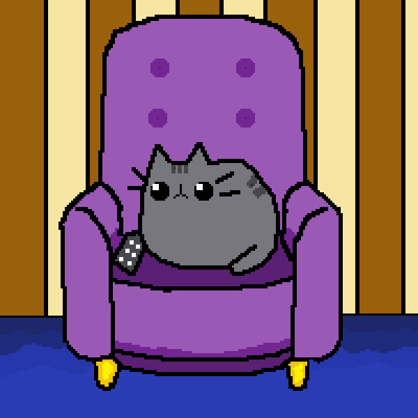 Pusheen on the Couch