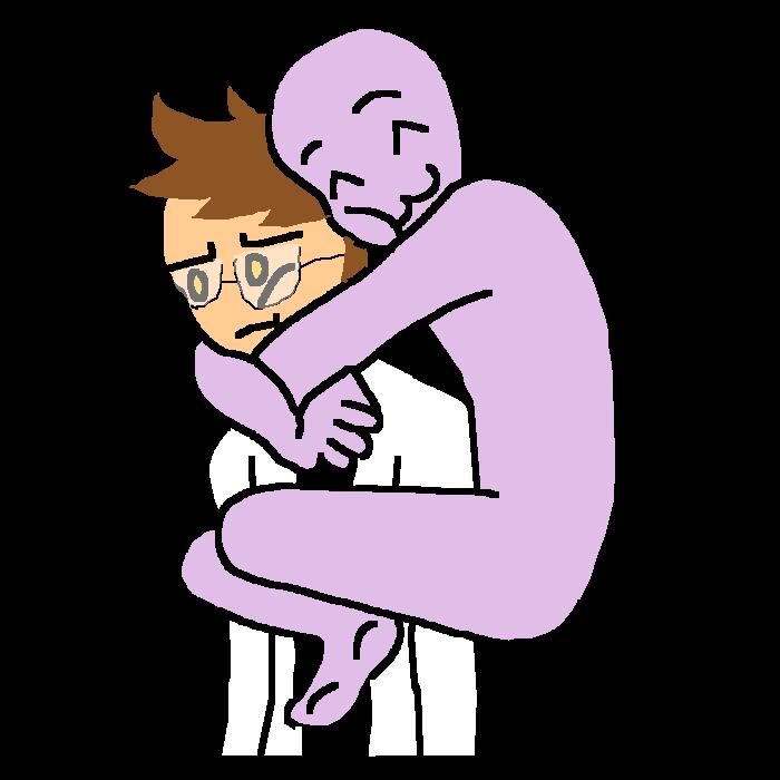 Get off of me