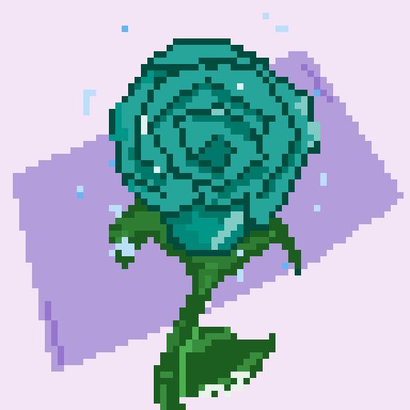 Precious Crystal Rose