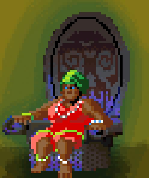 Voodoo-Lady