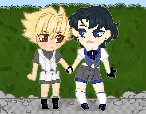 Tsubaki and Fin