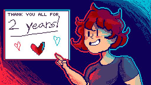 Thanks for 2 years, Pixilart!