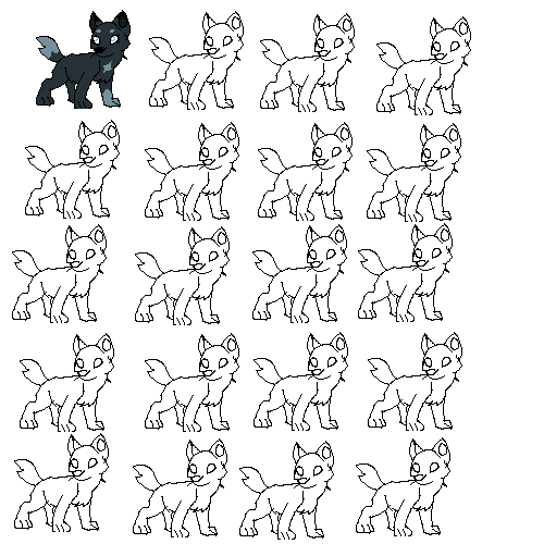Draw a Wolf!