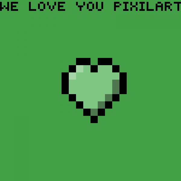 we love you pixilart