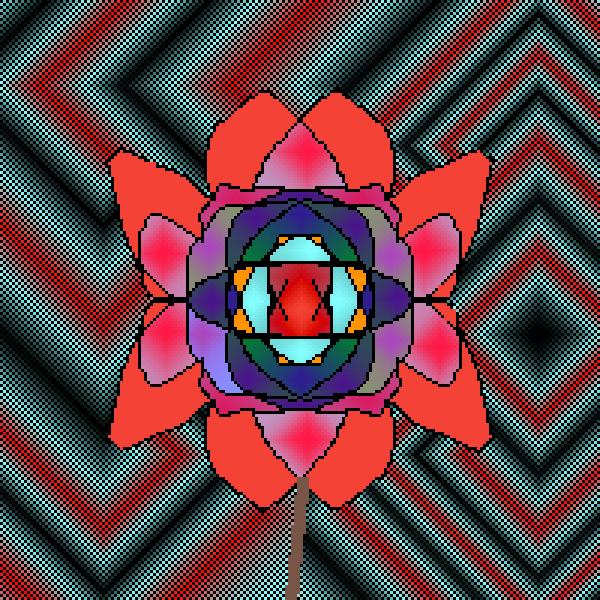 Only Flower Like This(Mandala #2)