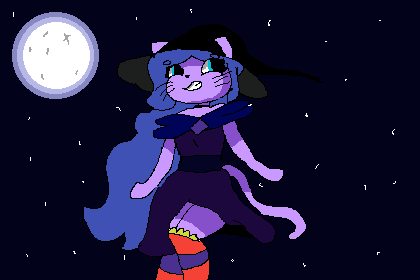 Cat witch♥
