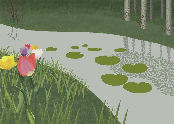 Springtime (drawing no.150)