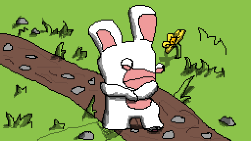 The Lonly Rabbid 2 ( Unfinished)