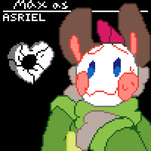 Max as Asriel