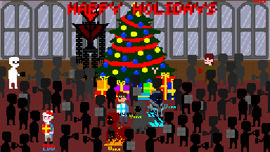 holidays meeting collab