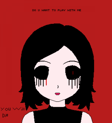 the girl that always play