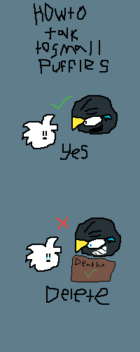 How to Talk to Small Puffles