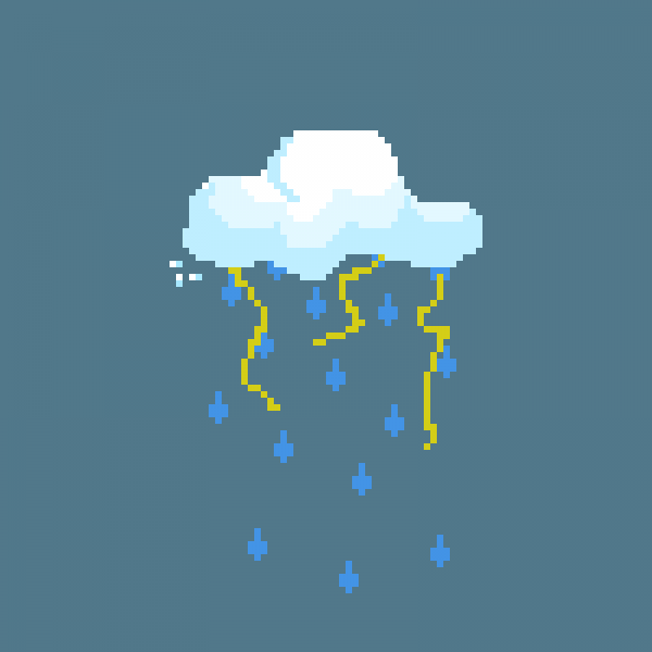 Raining Thunderstorm