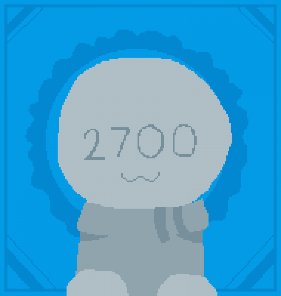 2700 followers!