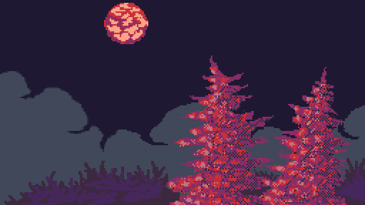 Under the light of the blood moon(Sorry it's not deta