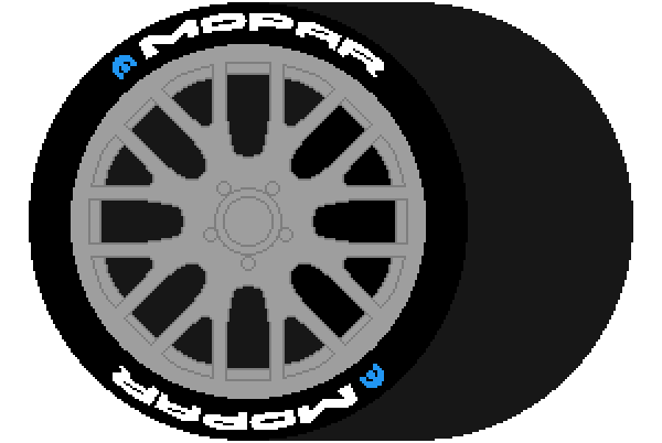 mopar wheel 3d?