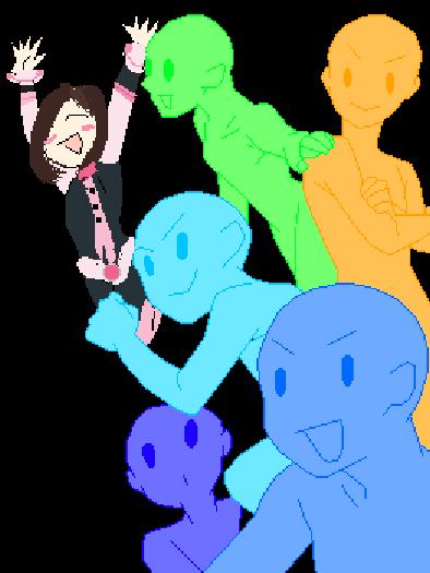 I drew Uraraka!