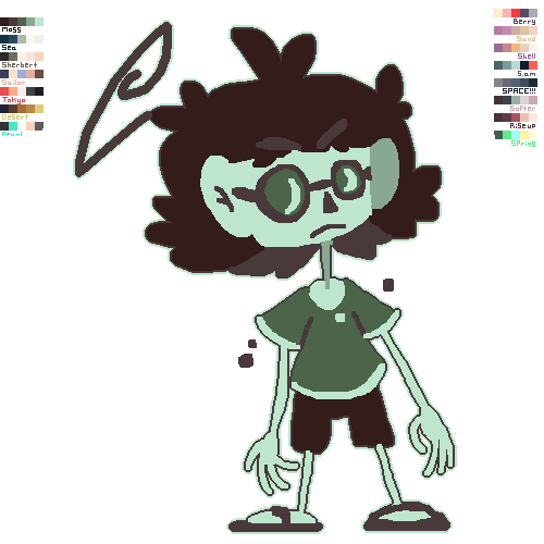 colour pallete things