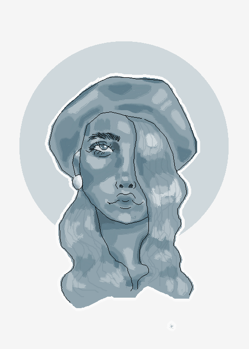 playing with the brush tool