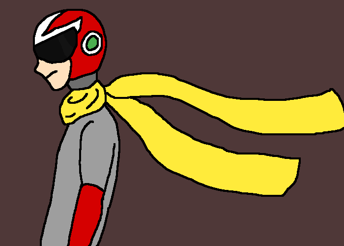 Do I draw Proto Man too much?