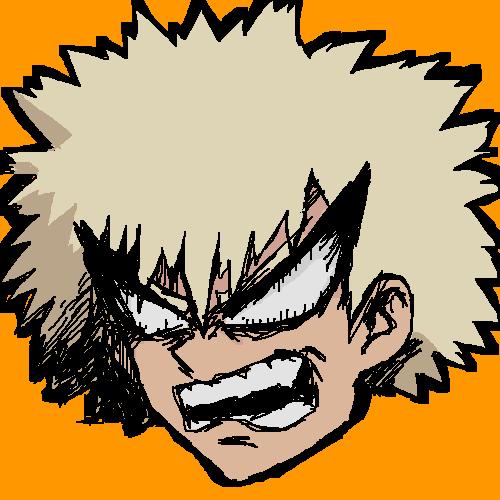 Bakugou is Angry