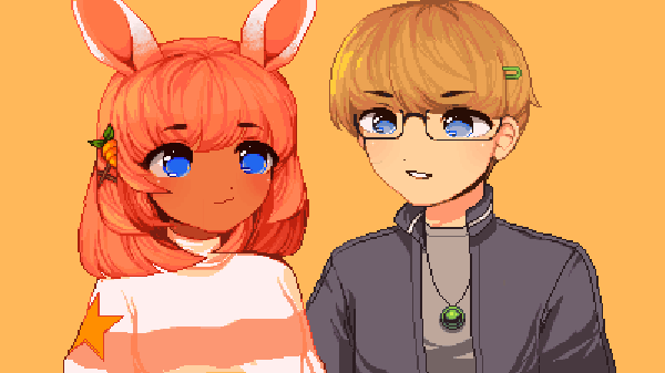 Apricot and Dylan