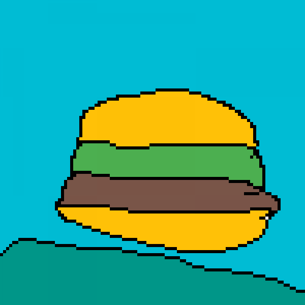 HAMBURGER POPPING FROM THE GROUND!!!!!