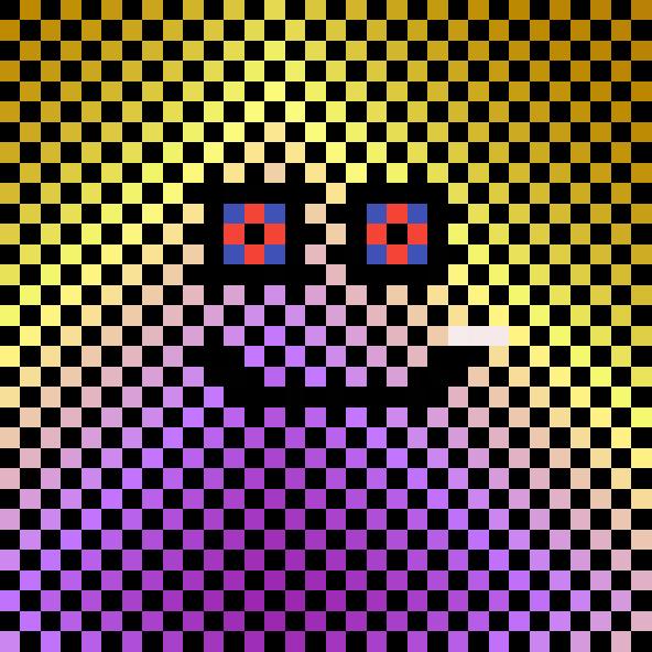 spookyish bug face