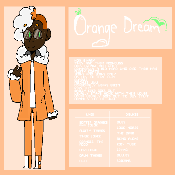 Human)) Orange Dream