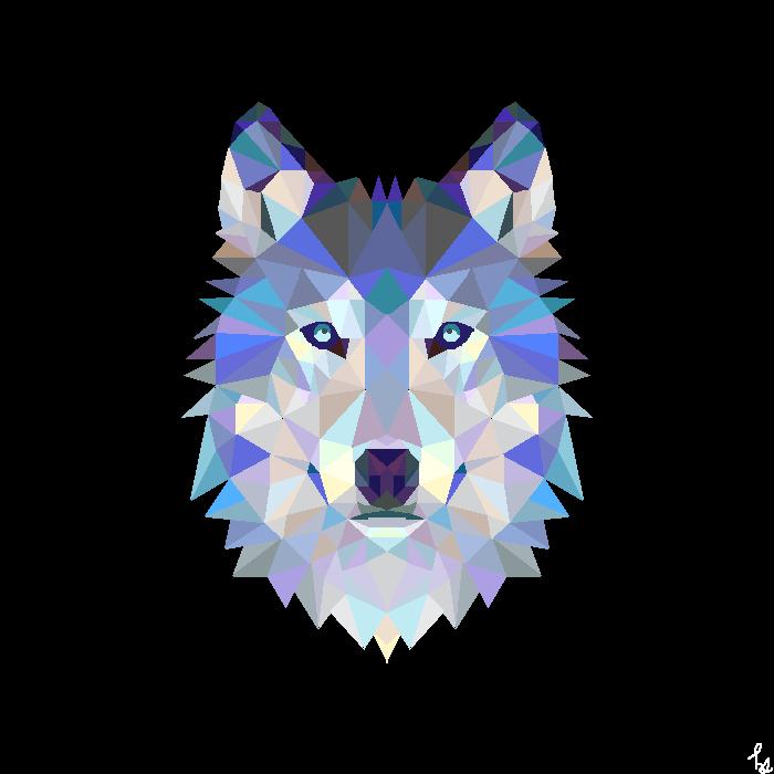Geometric Animals: Wolf
