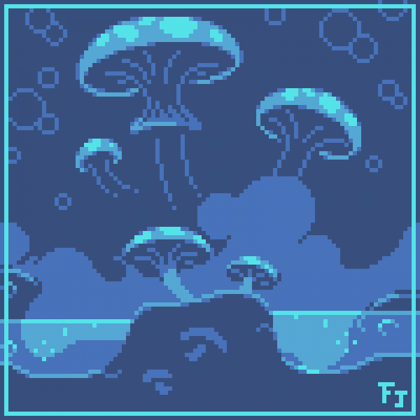 Mushroom Despair [For PixelJoint Contest]