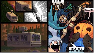 Pixilart Halloween Series: Page 2 of 23