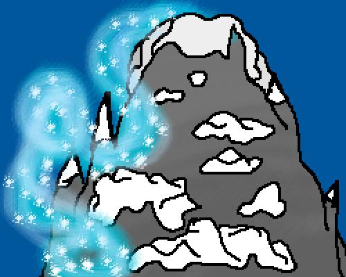 The snow mountains of Anamalia