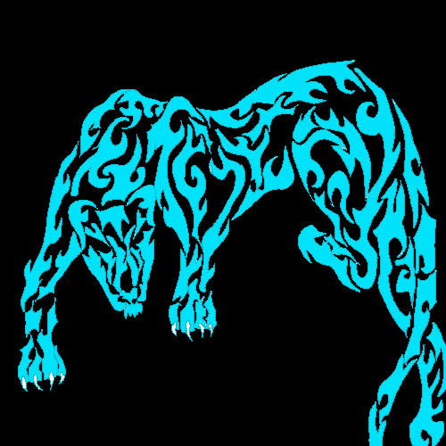 Cool panther tattoo