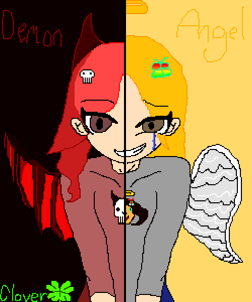 Demon Half Angel