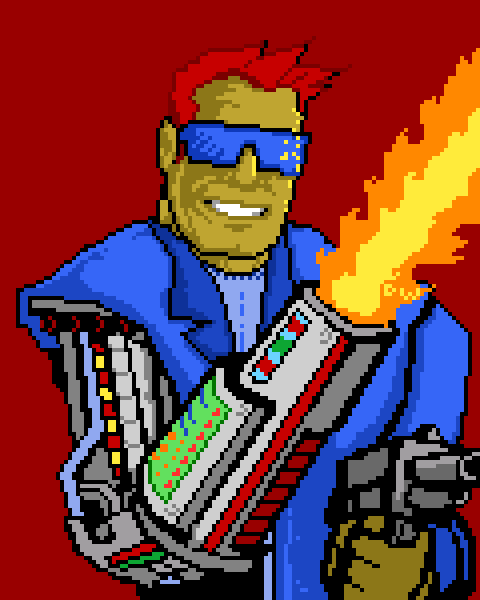 Agent Bret CyberWolf 5000