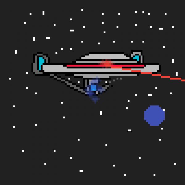 Star Trek (USS ENTERPRISE ATTACKS)