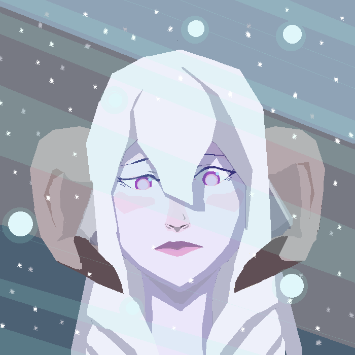 Demi-human in snow