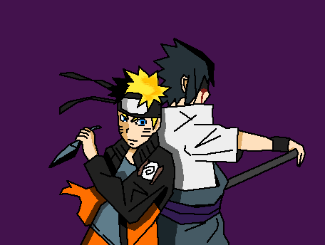 Naruto and Sasuke (Shippuden)