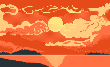 Warm Sunset